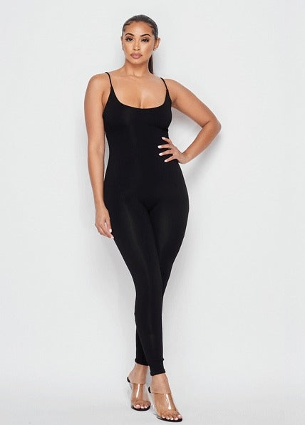 Karla Tank Jumpsuit - Black