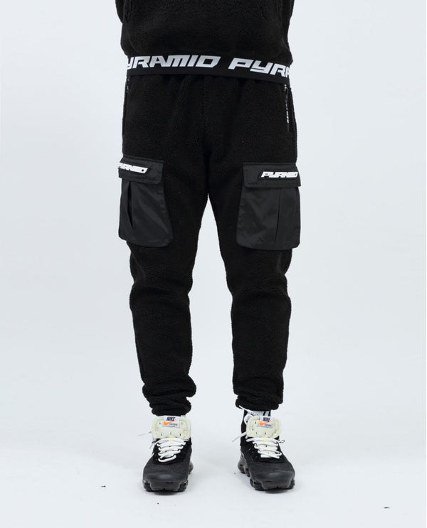Black Pyramid - Black Sherpa Cargo Pants - Sixteen Bars