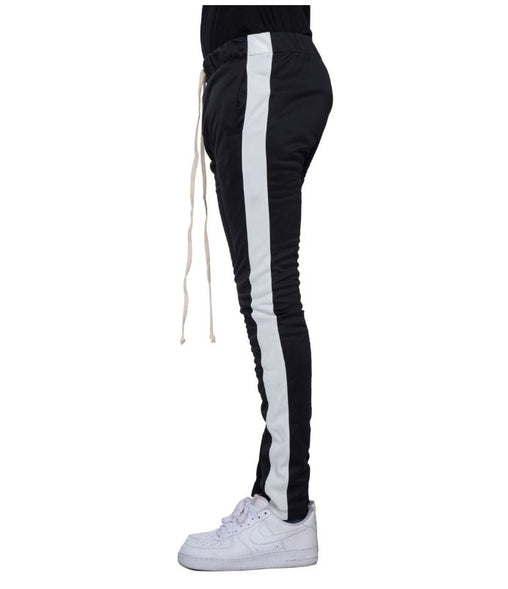 EPTM - Black/White Stripe Track Pants - Sixteen Bars