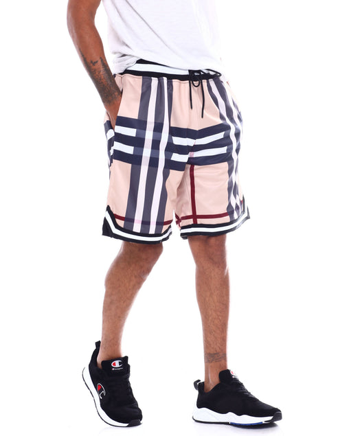 Hudson Outerwear - Brit Plaid Basketball Shorts - Sixteen Bars
