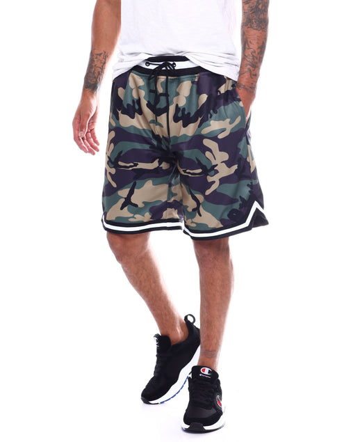 Hudson Outwear - Camouflage Basketball Shorts - Sixteen Bars