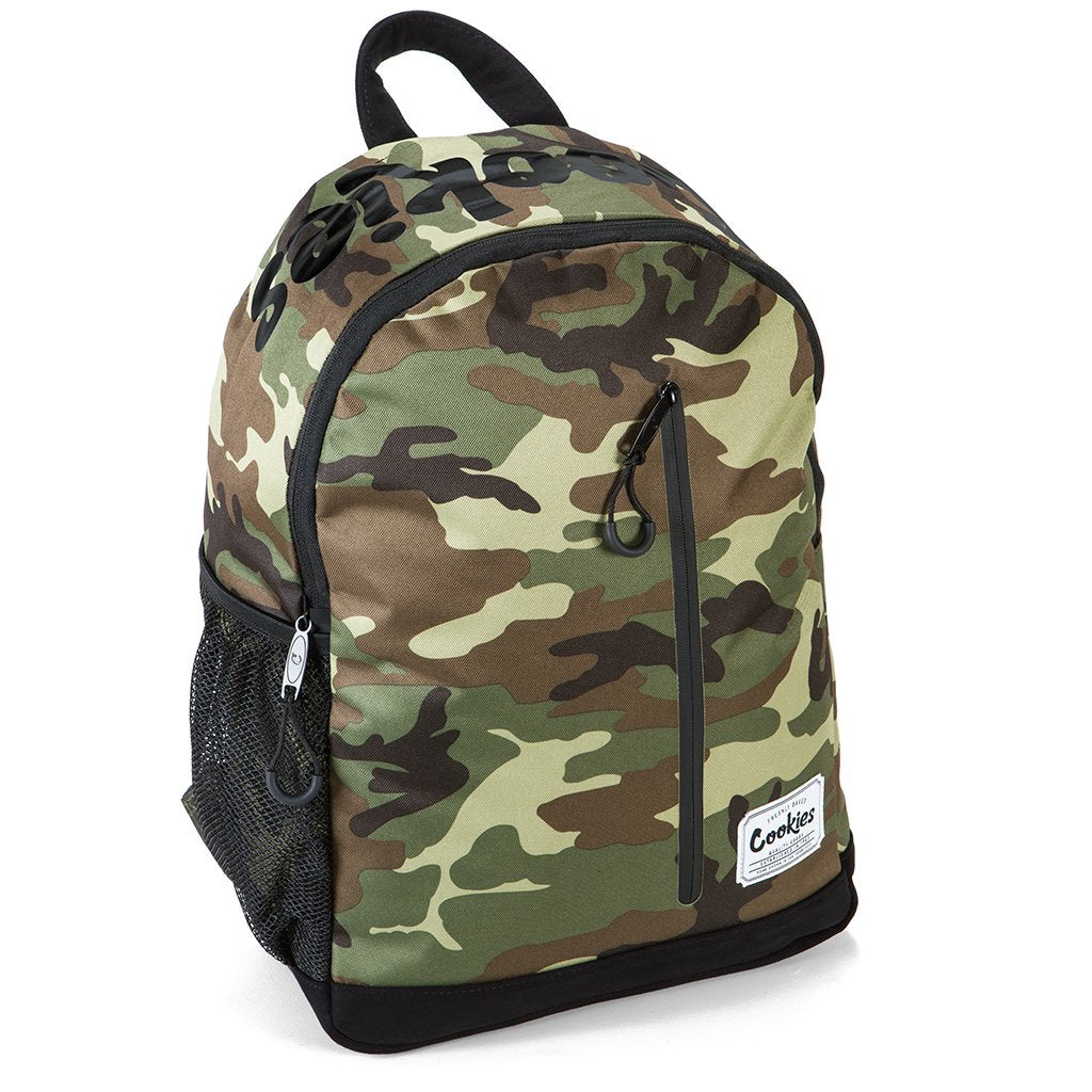 Cookies - Camo Commuter Backpack (SMELL PROOF) - Sixteen Bars