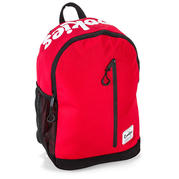 Cookies - Red Commuter Backpack (SMELL PROOF) - Sixteen Bars