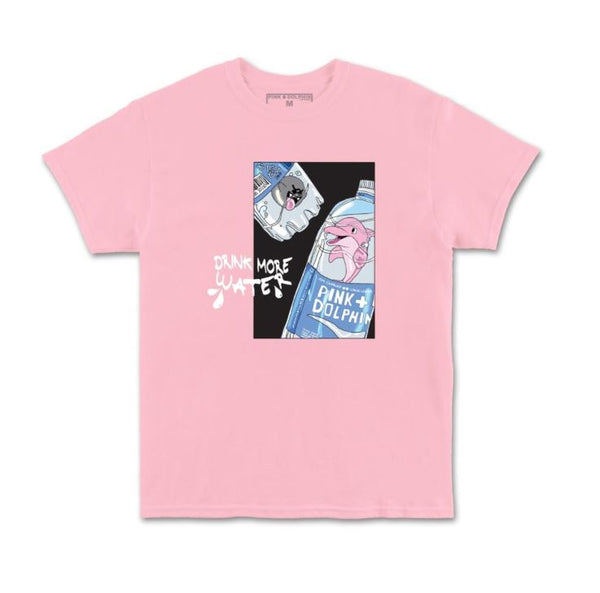 Pink Dolphin - Pink Drink More Tee - Sixteen Bars