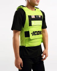 Hudson Outwear - Green ICON Vest - Sixteen Bars