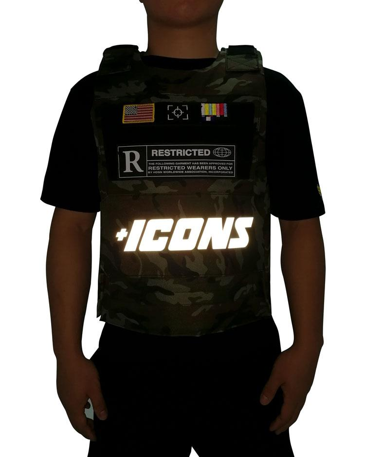 Hudson Outwear - Camo ICON Reflective Vest - Sixteen Bars