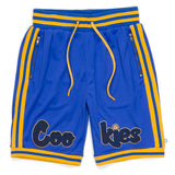 Cookies - Blue Hardwood Flava  Basketball Shorts