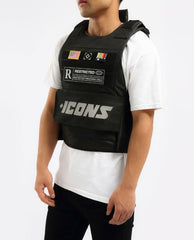 Hudson Outwear - Black ICON Reflective Vest