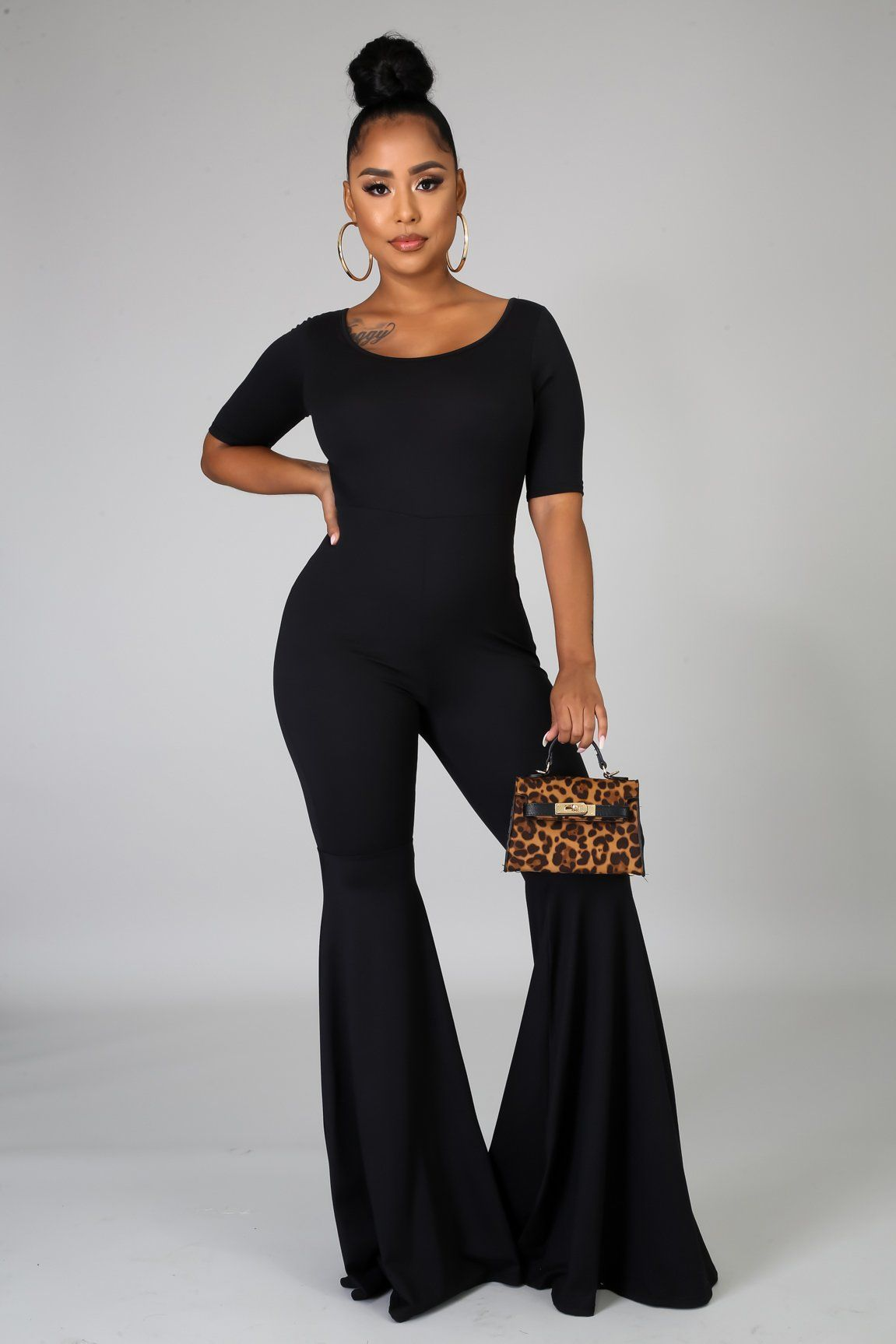 Play No Games Jumpsuit - Black