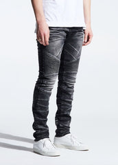 Crysp Denim - Black Acid Skywalker Denim - Sixteen Bars