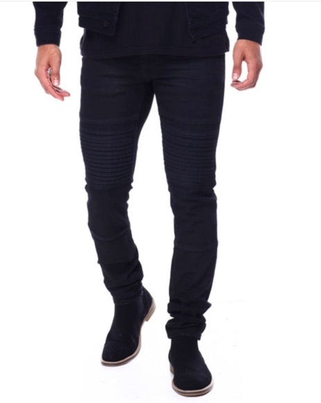 Crysp Denim- Black Artic Denim - Sixteen Bars