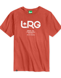 LRG - Earth Down Logo T-Shirt