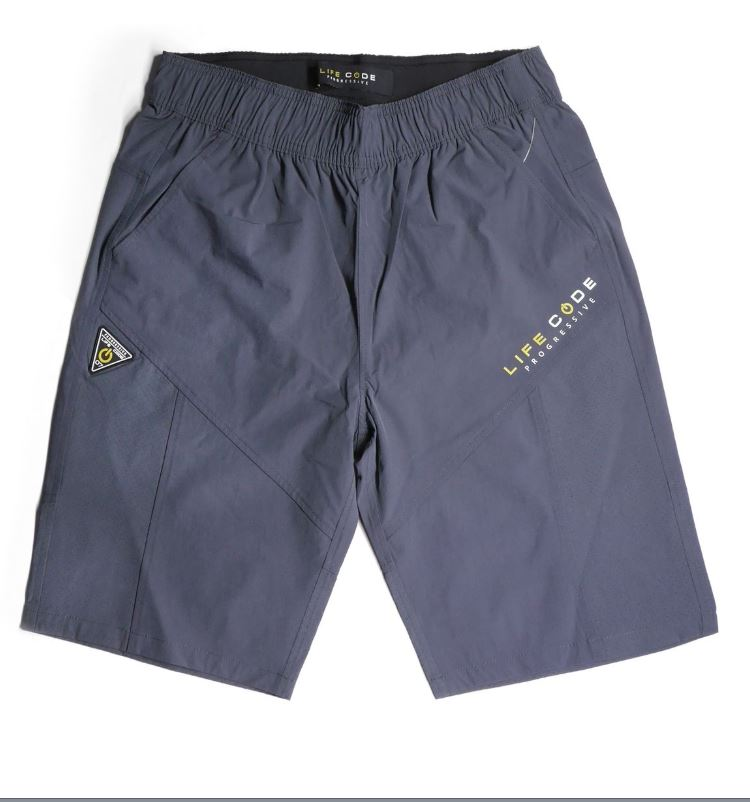 LifeCode - Tech Shorts - Grey