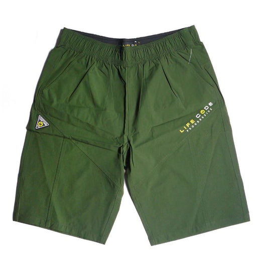 LifeCode - Tech Shorts - Olive