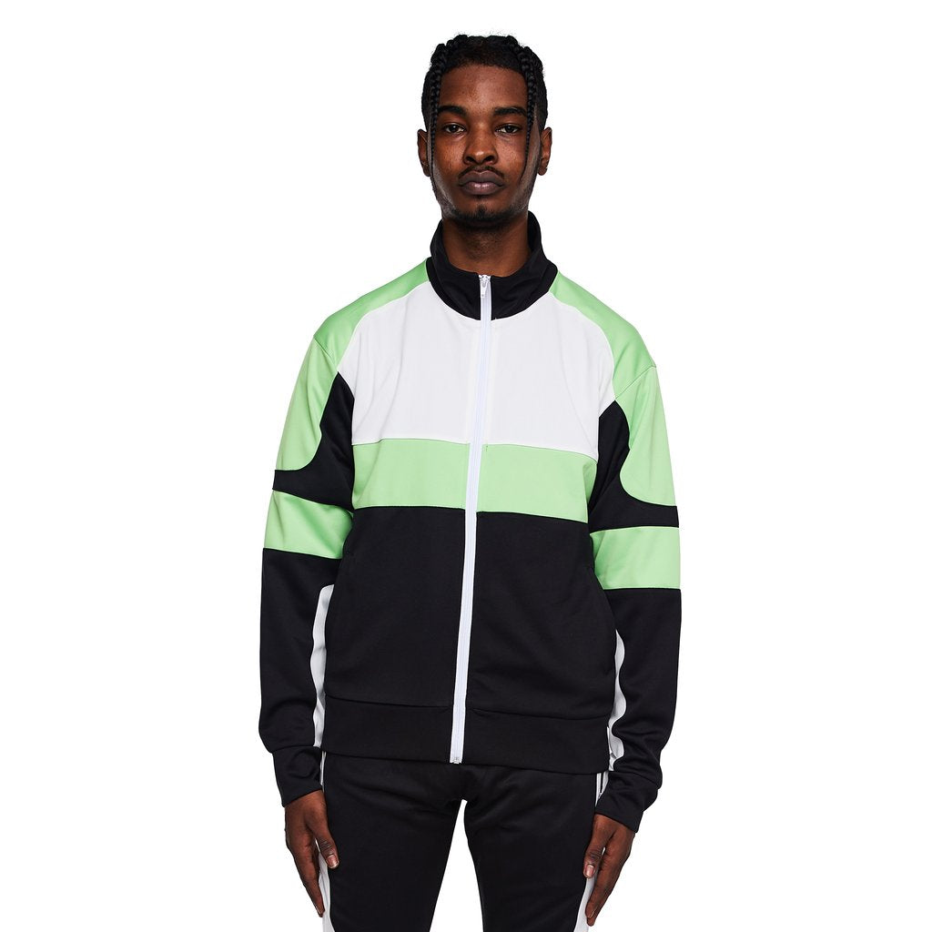 EPTM - Black/Lime Motocross Jacket - Sixteen Bars