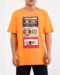 Black Pyramid -Orange Mixtape Tee - Sixteen Bars