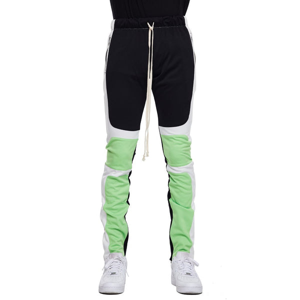 EPTM - Black/Lime Motocross Track Pants - Sixteen Bars