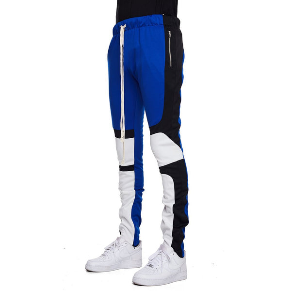 EPTM - Black/Blue Motocross Track Pants - Sixteen Bars