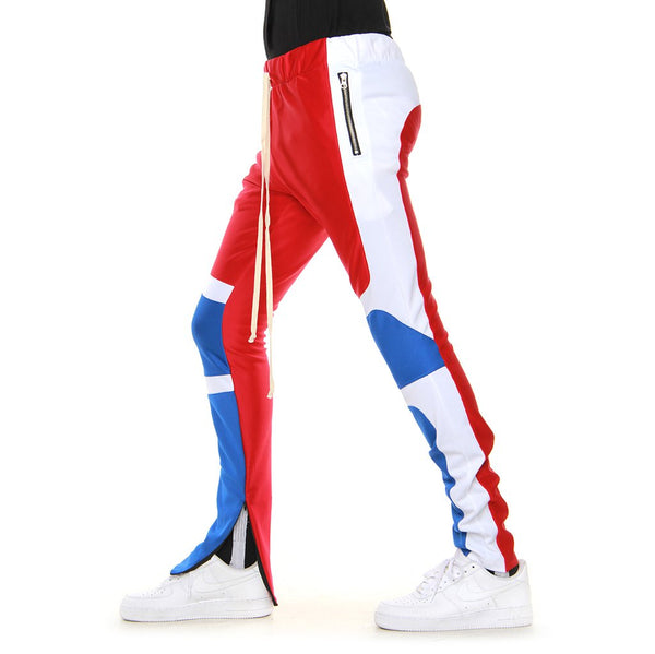 EPTM - Red/Blue Motocross Track Pants - Sixteen Bars