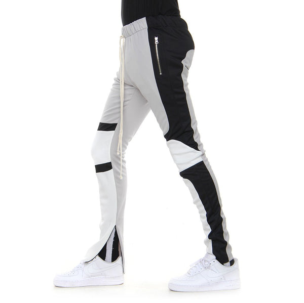 EPTM - Black/Silver Motocross Track Pants - Sixteen Bars