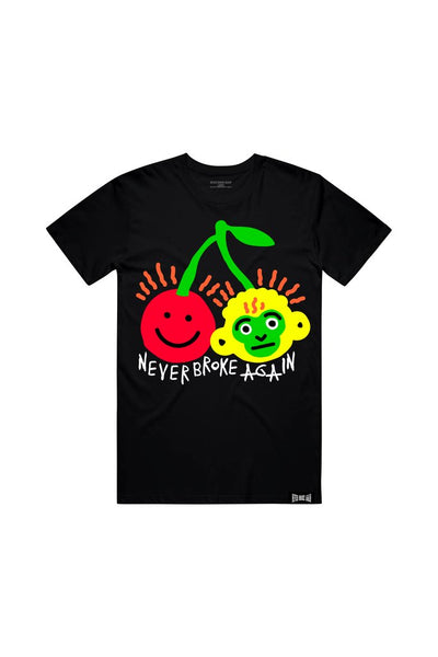 Never Broke Again - Black Cherry Stem T-Shirt