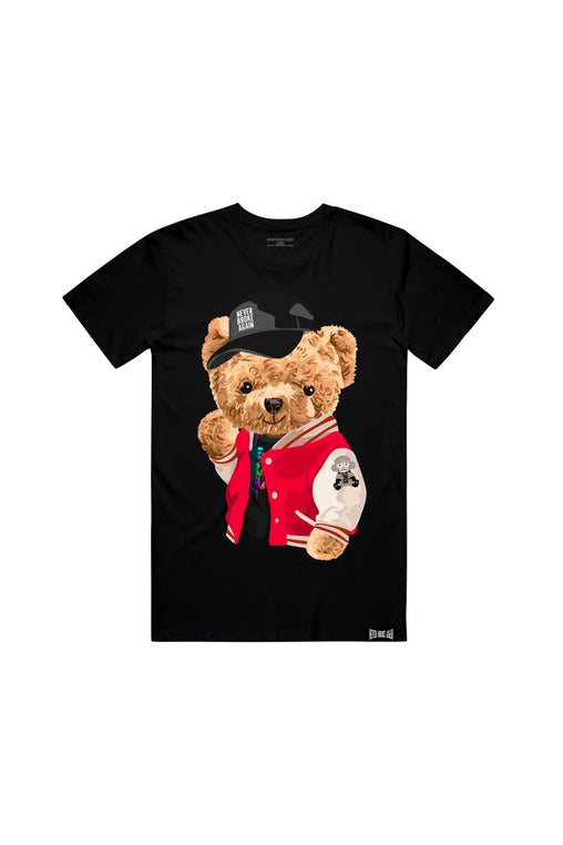 Never Broke Again - Black Teddy T-Shirt - Sixteen Bars