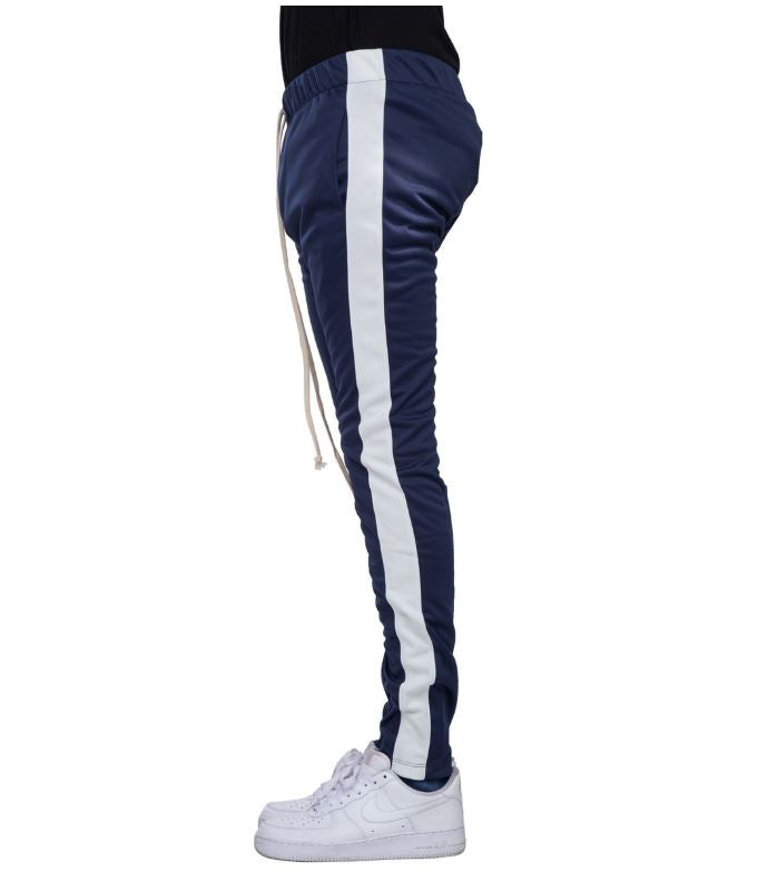 EPTM - Navy/White Stripe Track Pants - Sixteen Bars