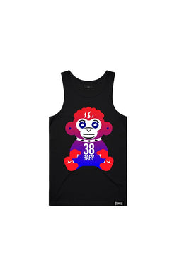 Never Broke Again - Black July 4th Monkey Tank - Sixteen Bars