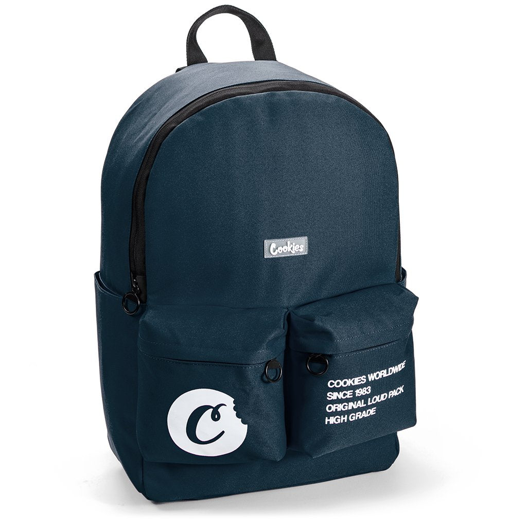 Cookies - Navy Orion Backpack (SMELL PROOF)