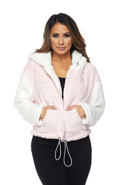 Popcorn Faux Fur Jacket - Sixteen Bars
