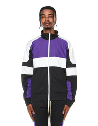 EPTM - Black/Purple Motocross Jacket