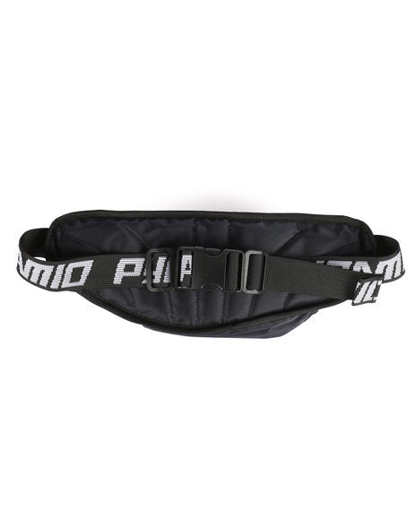 Black Pyramid - Black Waist Bag - Sixteen Bars