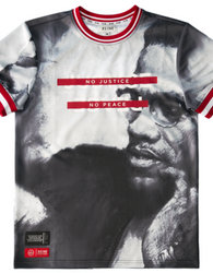 RS1NE - Malcolm X No Justice Jersey