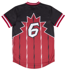 RS1NE - Black/Red Trappers Jersey - Sixteen Bars
