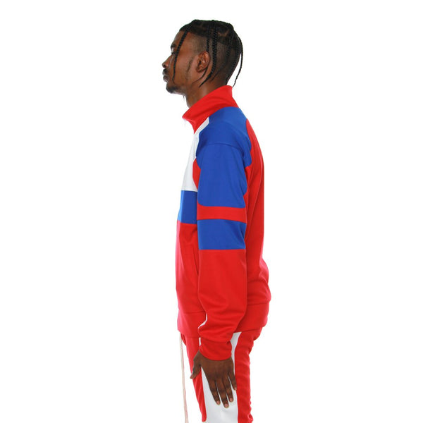 EPTM - Blue/Red Motocross Jacket - Sixteen Bars