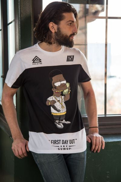 RS1NE - Black Bart's First Day Out T-Shirt - Sixteen Bars