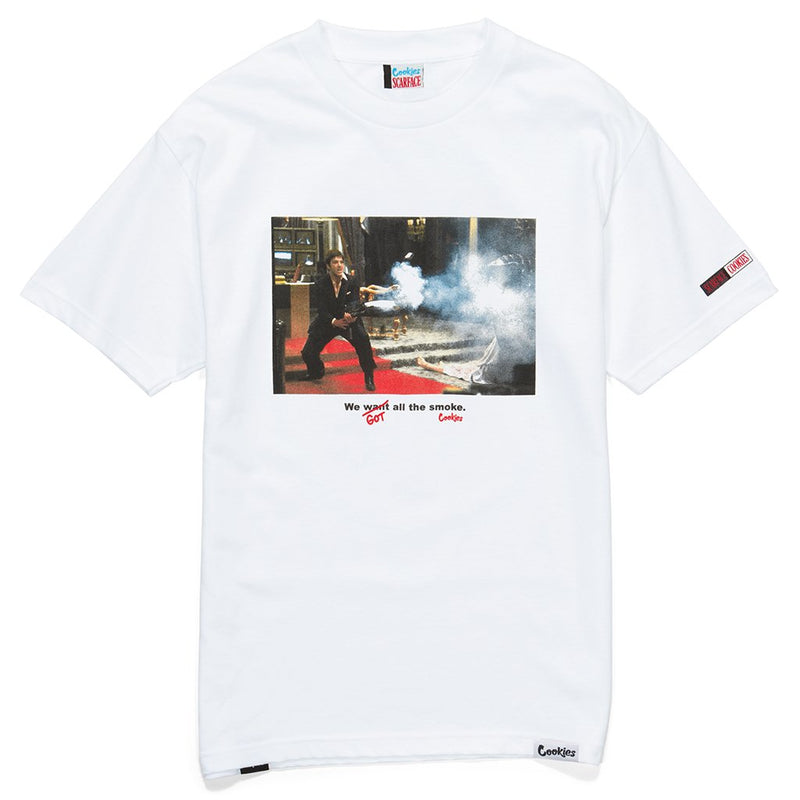 Cookies - White Scarface Smoke Tee