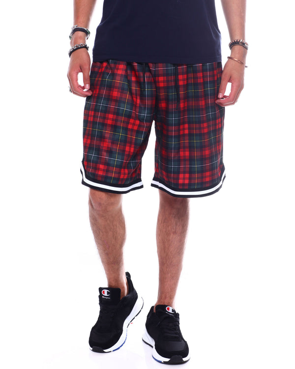 Hudson Outerwear - Plaid  Basketball Shorts - Sixteen Bars