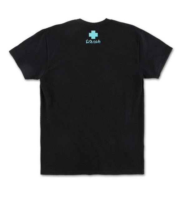Pink Dolphin - Black Slow Burn Tee - Sixteen Bars