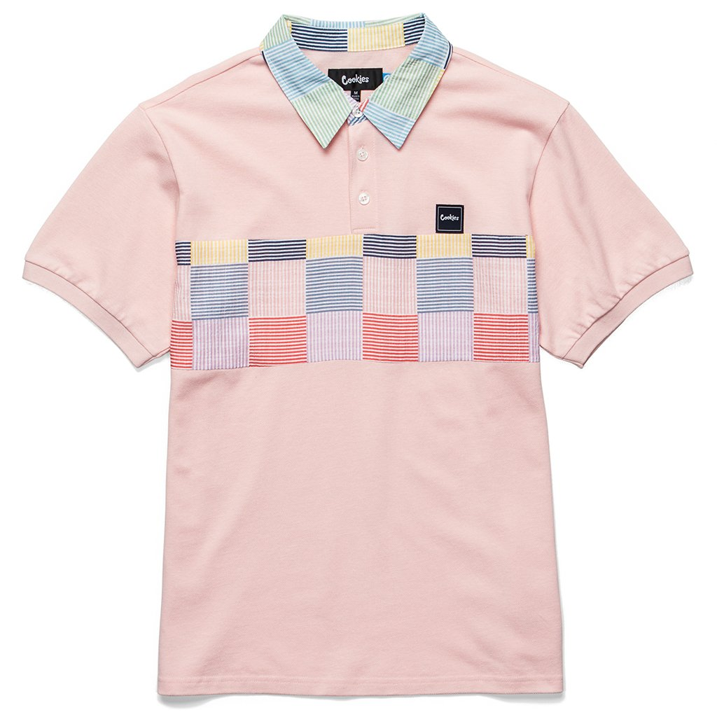 Cookies - Pink South Hampton Jersey Polo