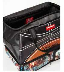 Sprayground - Spalding Fire Money Duffel - Sixteen Bars