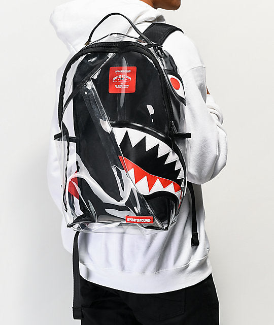 Sprayground - 20/20 Vision Angle Shark Backpack - Sixteen Bars