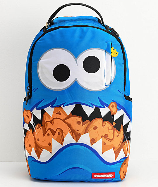 Sprayground - Monster Shark Backpack - Sixteen Bars