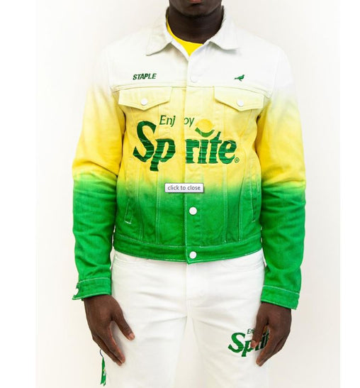 Staple - Sprite Denim Jacket - Sixteen Bars