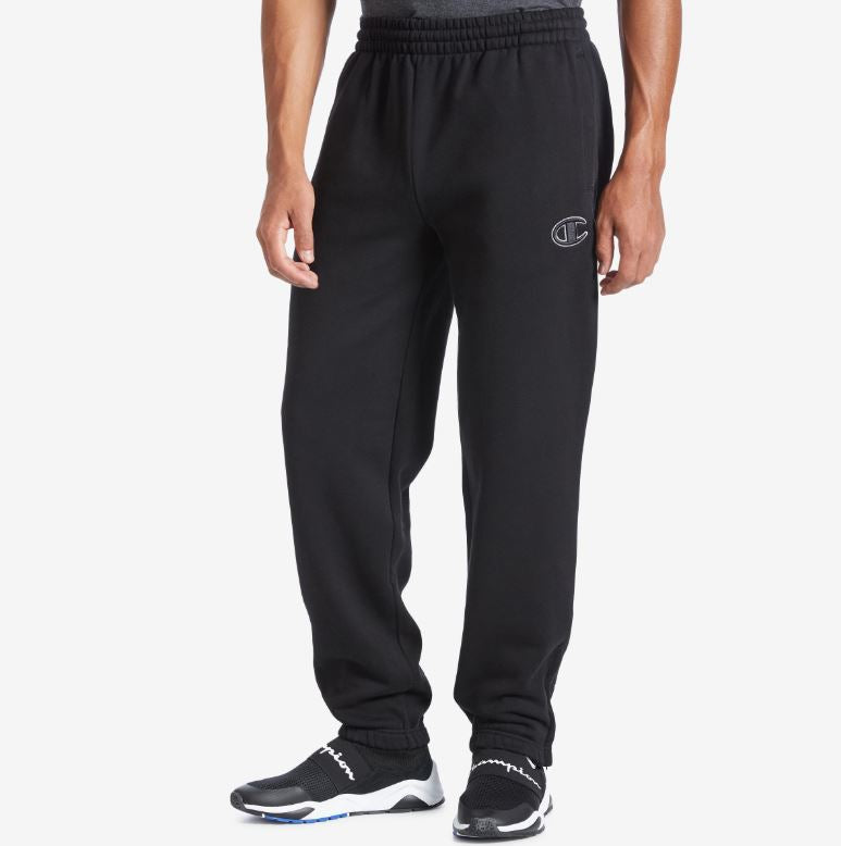 Champion - Black Super Fleece 2.0 Sweatpants - Sixteen Bars