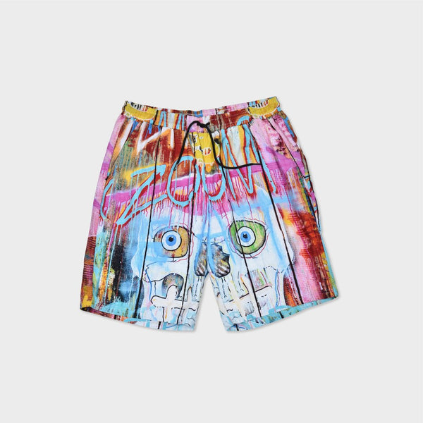Skull Fence Shorts - Sixteen Bars