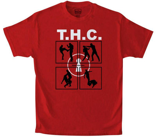 Tango Hotel - Red Fight Club Tee - Sixteen Bars
