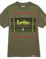 Cookies - Olive Tahoe Box T-Shirt