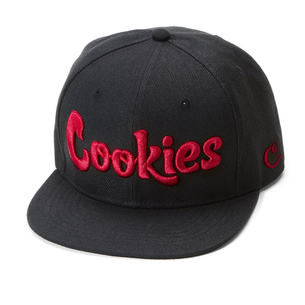 Cookies - Black/Red Thin Mint Snapback - Sixteen Bars