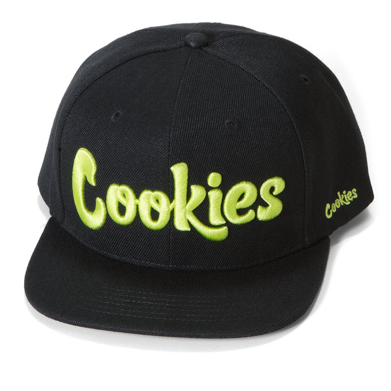 Cookies - Black/Volt Thin Mint Snapback Hat - Sixteen Bars